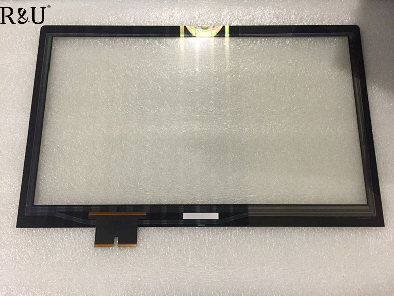 R&U New 100% test Working perfectly For Lenovo Flex 2-15 15.6 Laptop Touch Digitizer Screen Replacement free shipping