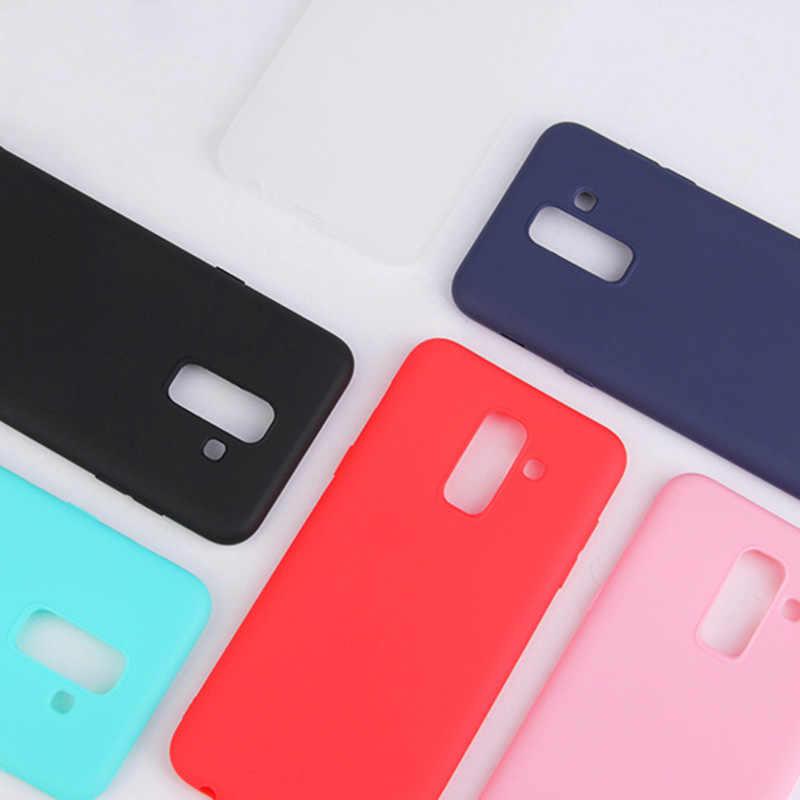 Mờ Mềm TPU Cho Samsung S7 S6 Edge Plus Đồng Bằng Kẹo Ốp Lưng Bảo Vệ Cho Samsung Galaxy S8 Plus capa Ốp Lưng