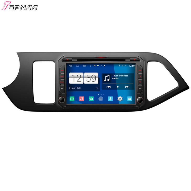8'' Quad Core S160 Android 4.4 Car DVD GPS For KIA Picanto With Mirror Link Wifi BT Stereo Radio Multimedia Free Shipping