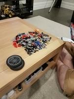 HOT 378Pcs Technic Motorcycle Exploiture Model Harley Vehicle Building Bricks Block Set Toy Gift Compatible With Legoe 3