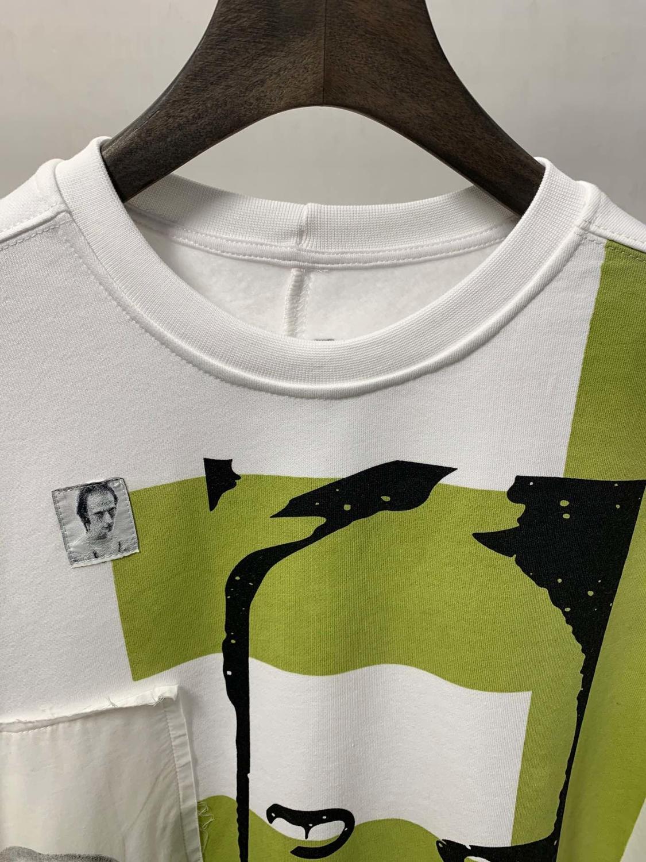 19ss Owen seak hommes sweat à capuche en coton Sweatshirts gothique surdimensionné vêtements pour hommes automne solide blanc Hoodies chemise de fond - 4