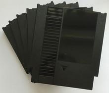 Cor preta 72 Pinos Jogo Cartucho de Substituição De Plástico Shell Para NES Console