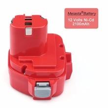 MELASTA 12 v NiCd 2100 mAh Bateria Bateria do Makita 1220 PA12 1222 1233 S 1233SA 1233SB 1235 1235A 1235B 192598-2