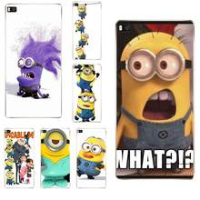 Despreciable Me Minions TPU funda protectora para Huawei G7 G8 Honor 5A 5C 5X6 6X7 8 V8 Mate 8 9 P7 P8 P9 P10 Lite Plus(China)