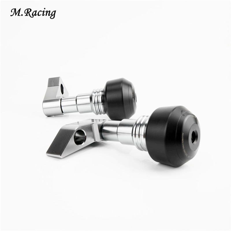 Falling Protectors Motorcycle CNC Aluminum Alloy Frame Slider Anti Crash Caps For ER-6F 2012-2016 ER-6N 2010-2016 Easy