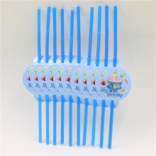 """My 1st Birthday"" Straws"