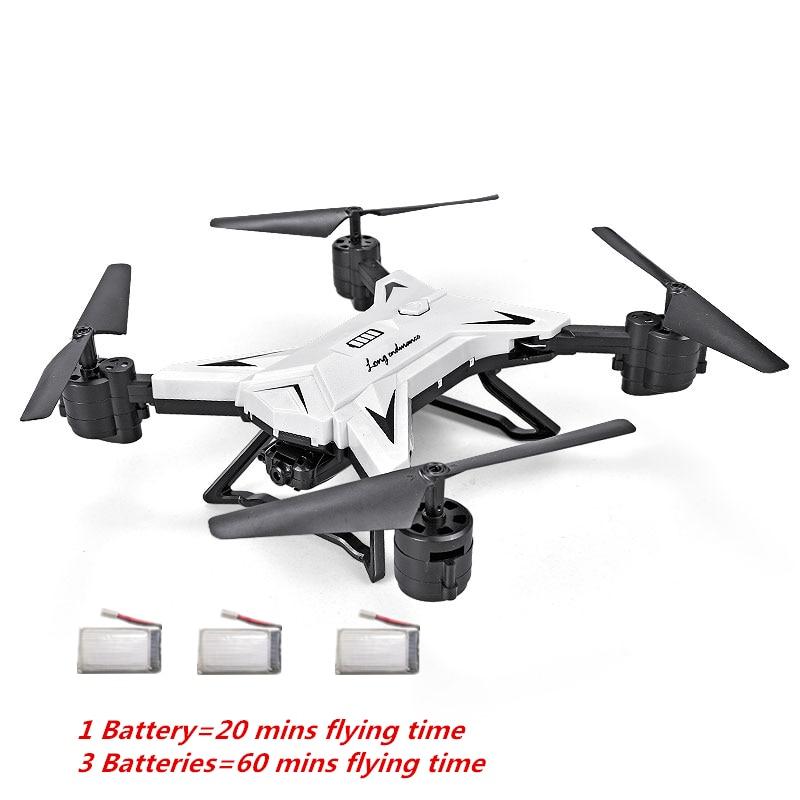 KY601S RC Quadcopter con cámara HD FPV WIFI RC Selfie Drones 18 min tiempo de vuelo plegable Quadrocopter pieza del Drone RC Drone cuaderno visual E58 XS809s