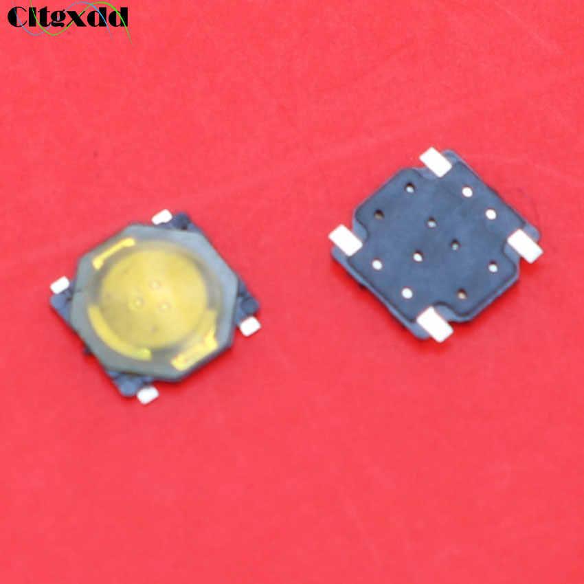 Cltgxdd 1 piezas 3,7x3,7x0,35 táctil tacto Mini interruptor de botón de empuje Micro interruptor momentáneo SMD-4 3,7 * interruptor táctil de película delgada 3,7*0,35