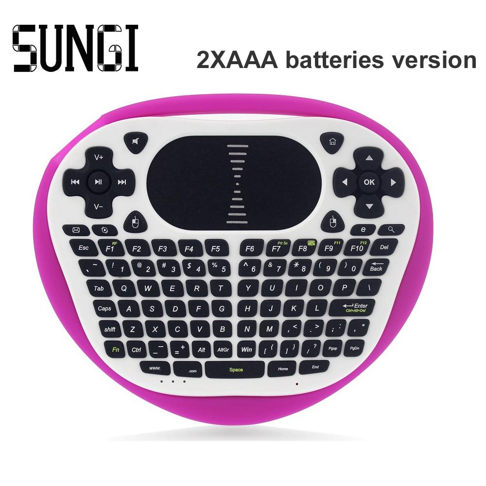 Original T8 Mini Wireless Keyboard 2 4G font b Gaming b font Keyboard Air Fly Mouse