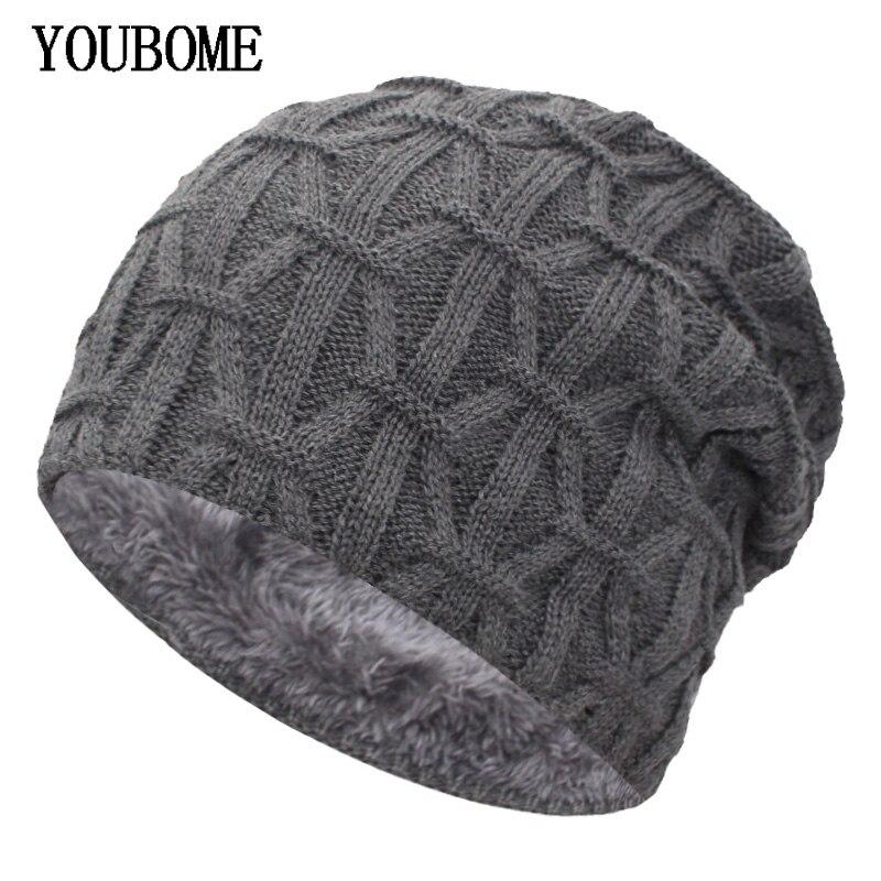 e8af7d245e16 Boina de invierno para hombre, sombrero de punto para mujer, sombrero de  invierno para hombre tapas sombrero