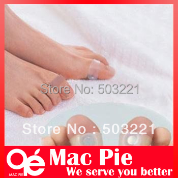 1 Pair/2PieceS Magnetic Silicone Foot Massage Toe Ring Fat Burning For Loss Weight Feet Care