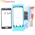 Front Glass Outer Screen Lens Replacement For Samsung Galaxy A3 A3000 A5 A5000 A7 A7000 Touch Panel Repair Kit+Tools+UV Glue