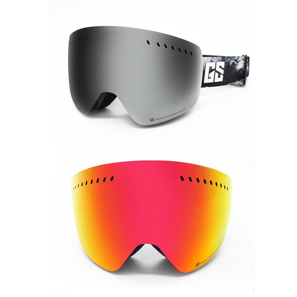 GS wintersport lunettes de ski lunettes de ski neige lunettes de snowboard motoneige ski et snowboard accessoires de ski - 3