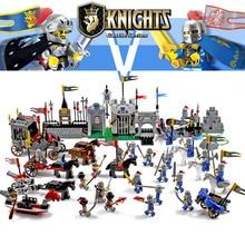 Enlighten Castle Educational Building Blocks Toys For Children Kids Gifts 25 Hero Knight Boat Arrow Horse Weapon Gun