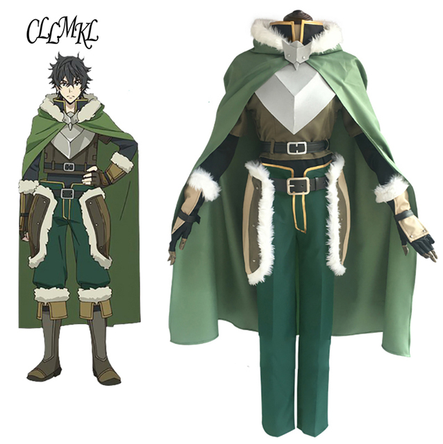 Disfraz de Cosplay personalizado de The Rising of the Shield Hero Naofumi Iwatani hecho a medida