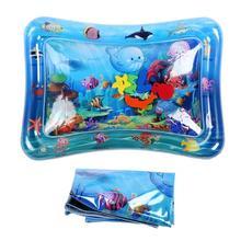 Детский водный игровой коврик, надувной детский игровой коврик из ПВХ, детский игровой коврик для роста, игровой коврик, детский игровой коврик-пазл, инструменты для игр