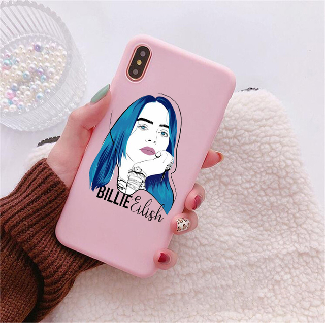 BILLIE EILISH HUAWEI PHONE CASE (14 VARIAN)