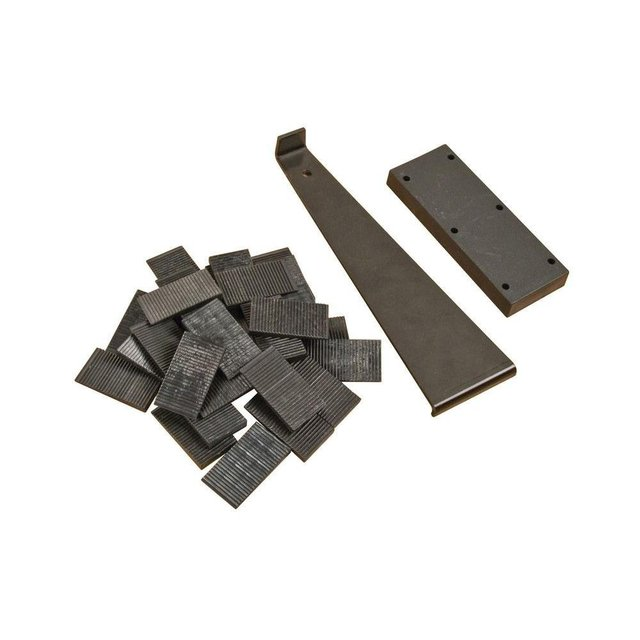 Laminate Tapping Block Hot Sale Laminate Flooring Installation Kit with Tapping Block, Pull Bar  and 30 Wedge Spacers