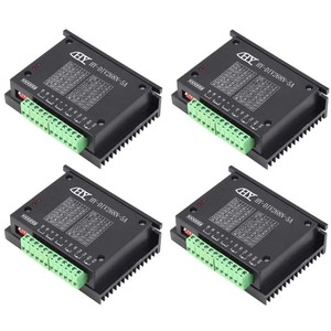 Одноосевой контроллер с ЧПУ TB6600 0,2-5A двухфазный гибридный Драйвер шагового двигателя nema 17/23 контроллер DC12-48V привод 34 42 57 76