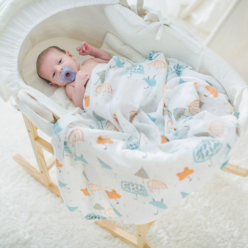 Kaufen Günstig Baby Musselin Decke Wickeln Kinderwagen Krippe