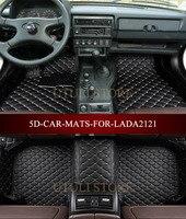 الجلود سيارة الحصير ل لادا نيفا BA3 2121 4x4 ثلاثية الأبعاد مخصص صالح سيارة التصميم جميع الطقس السجاد الطابق بطانات دواسات قدم|car floor mats|floor linersfloor mat -