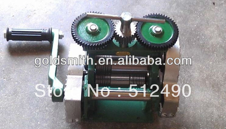 mini brass rolling mill,hand roller for jewelry,brass jewelry rolling mill