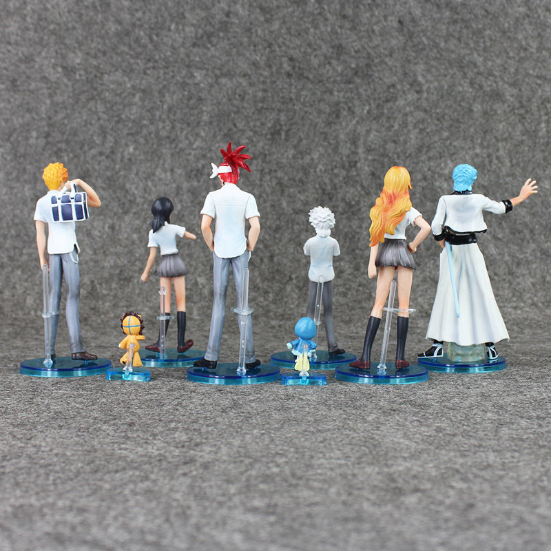 Bleach Action Figures for sale Back View