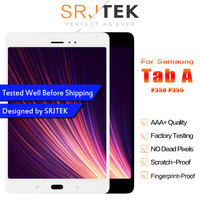 Srjtek 8 For Samsung Galaxy Tab A SM P350 P350 SM P355 P355 LCD Display Matrix + Touch Screen Digitizer Full Assembly