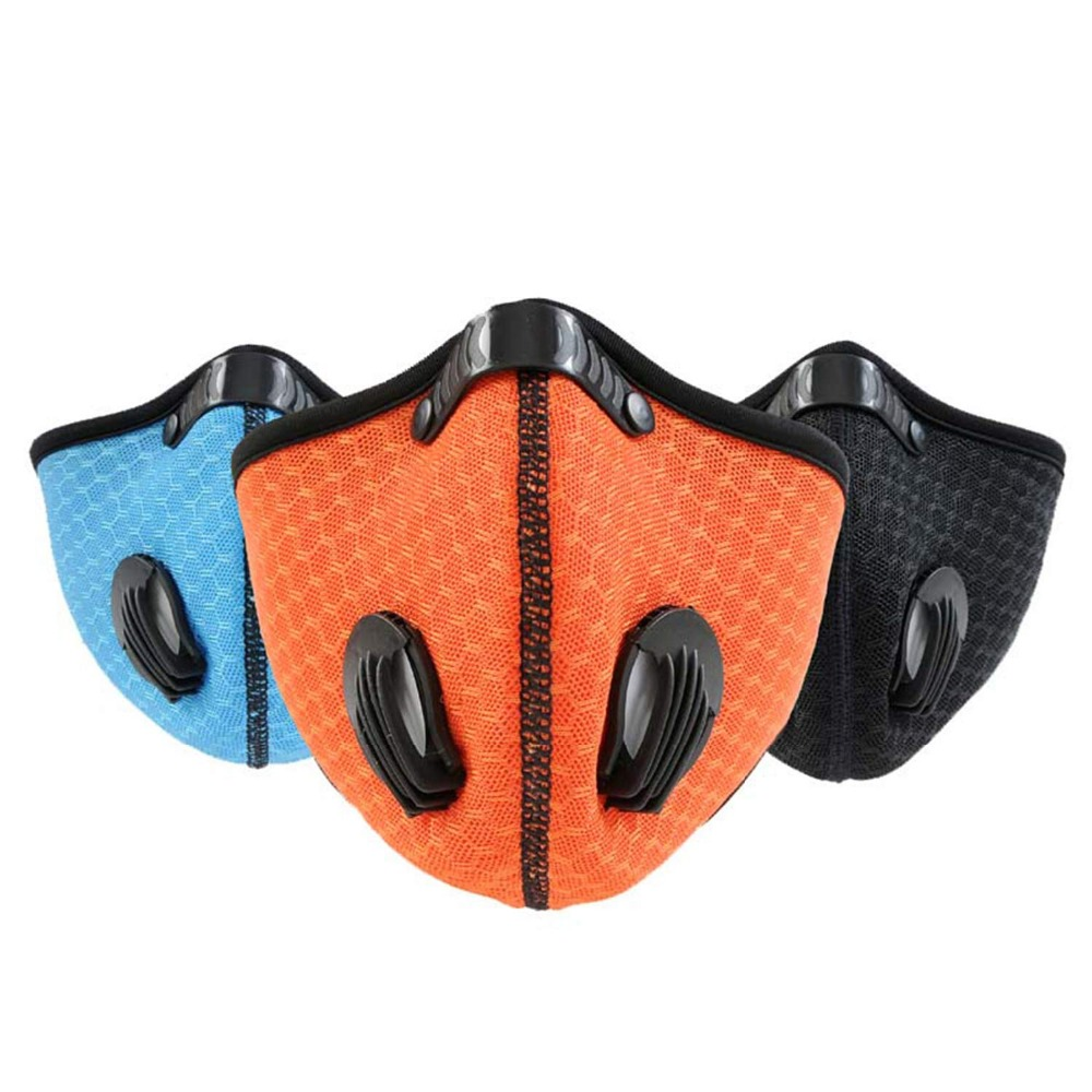 Dust Mask Activated Carbon Dustproof Mask for Exhaust Gas Pollen Allergy PM2 5 Running Cycling Outdoor Activities in Masks from Security Protection