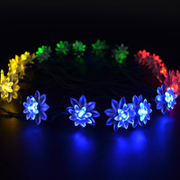 5M 20 LED Strip Light White Lotus Led Room Party Decorative Flexible Lights Indoor Outdoor Lighting