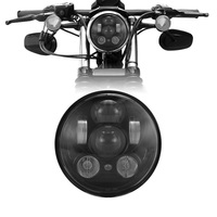 For 883 iron Harley 5.75 Headlight Headlamp with Parking light Daymarker Projector LED Headlight Bulbs for Motorcycle davidson