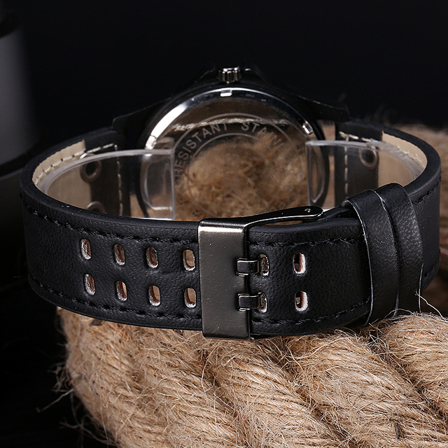 Vintage Classic Waterproof Leather Strap Wrist Watches