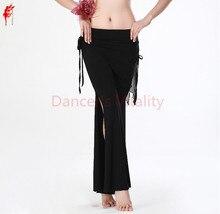 새로운! 우유 실크 벨리 댄스 의상 수석 섹시 벨리 댄스 바지 여성 밸리 댄스 벨트 바지 5 색 M L XL