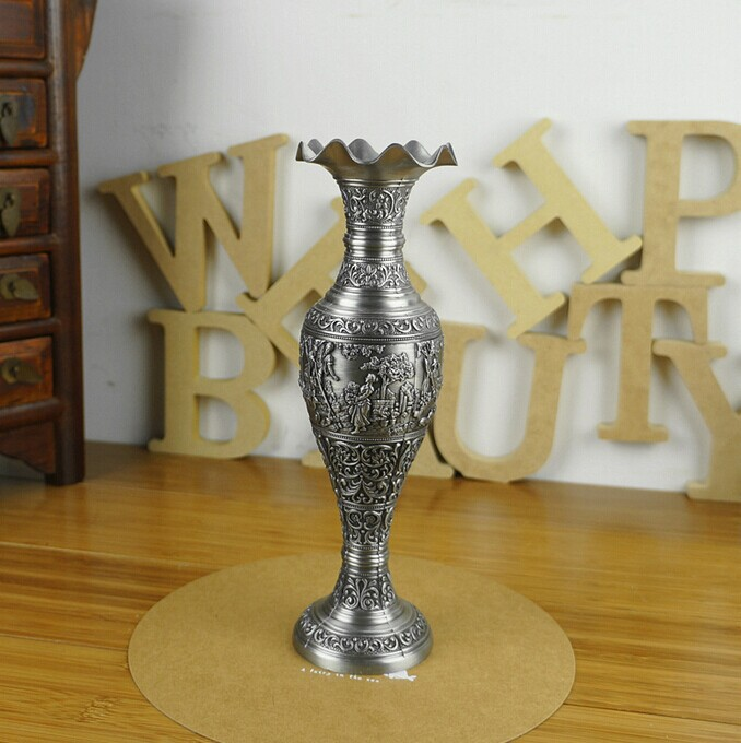 Fruitful Vintage Vases Decoration Flower Vase Metal Vases