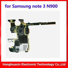 for Samsung note 3 N900 16GB Original Motherboard Europea version install Android system mainboard good working logic board