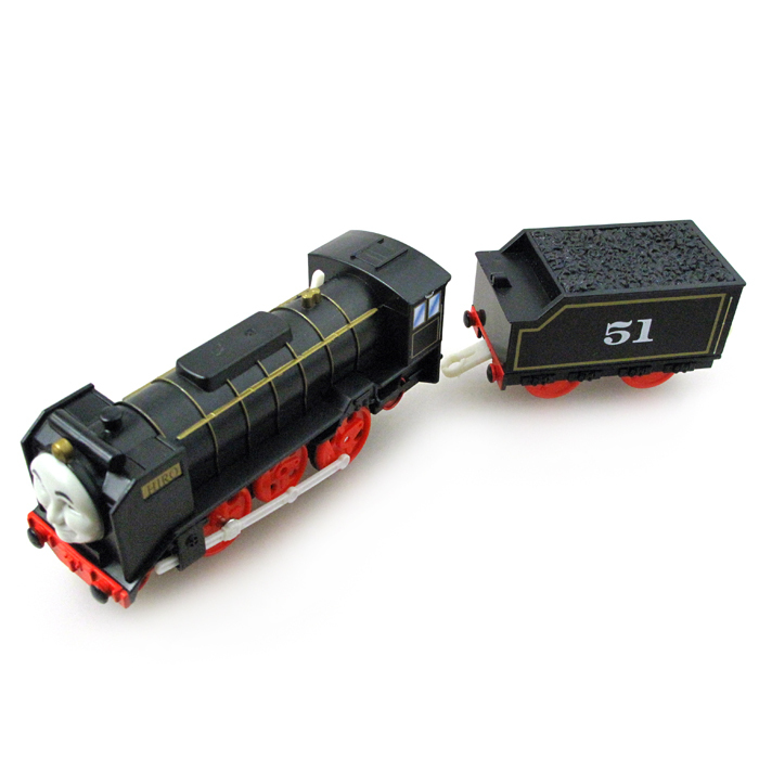 T0240 Kids Toys Electric Thomas Train Hiro with a carriage Thomas And Friends Magnetic Thomas Truck Locomotive Engine Railway