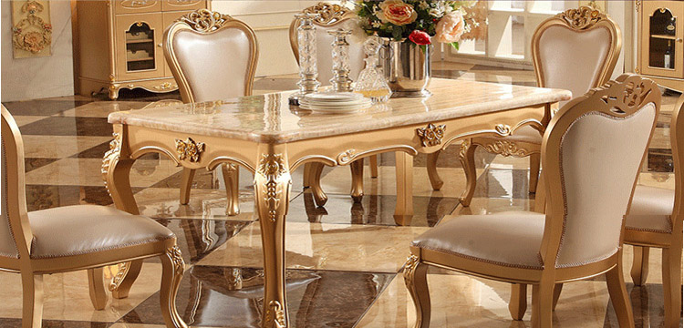 Nice Dining Room Marble Dining Table Set Luxury European Style Restaurant Table  Chair Sets Hk01 In Dining Room Sets From Furniture On Aliexpress.com |  Alibaba ... Part 10