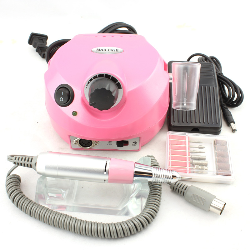 цена на OPHIR Nail Tools Pro 30000RPM Electric Nail Drill Machine Manicure Drills Accessory Acrylic Nail Drill File Bits Pedicure Kit