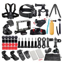 FeoconT Outdoor Sport Camera Accessories Head Chest Hand Mount Floating font b Monopod b font For