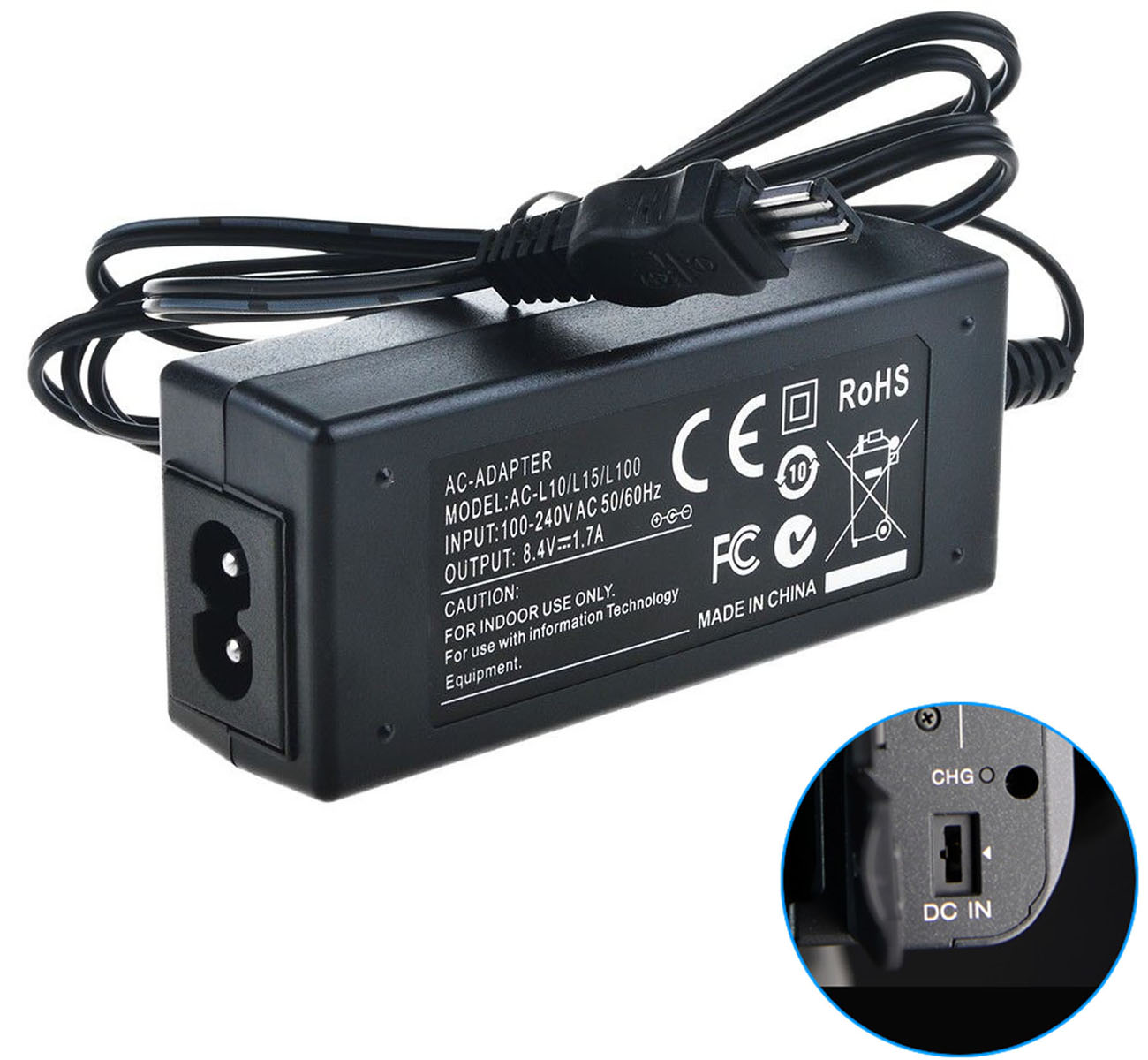 MVC-CD250 MVC-CD300 AC Power Adapter Charger for Sony MVC-CD200 MVC-CD350 Mavica Digital Camera