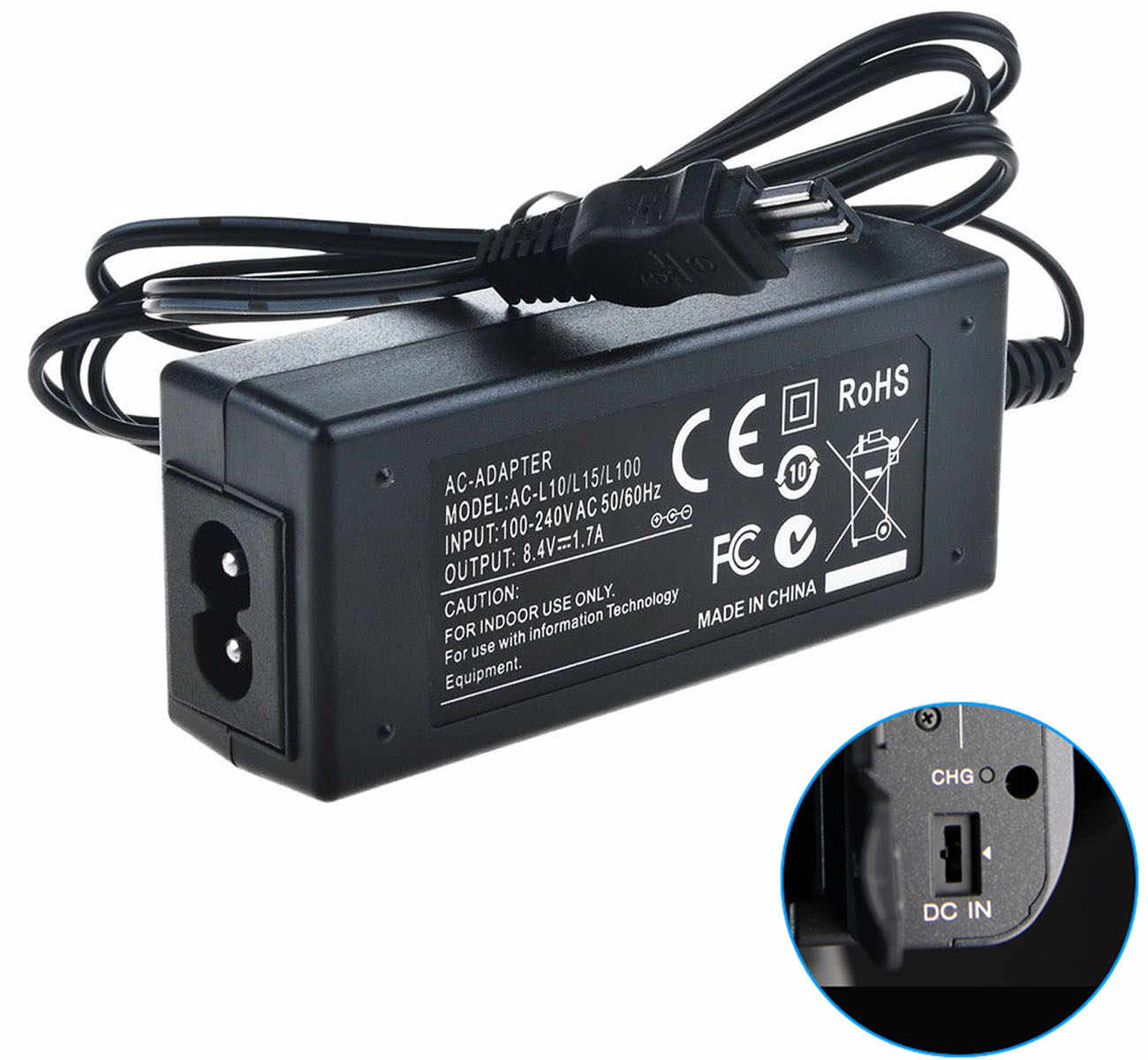 MVC-CD400 Digital Camera plus HQRP Coaster MVC-CD200 MVC-CD300 MVC-CD350 MVC-CD250 HQRP Replacement AC Adapter//Charger for Sony Mavica MVC-CD1000