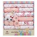 Spring and summer newborn baby underwear supplies baby gift box set baby products newborn baby set 18 pcs