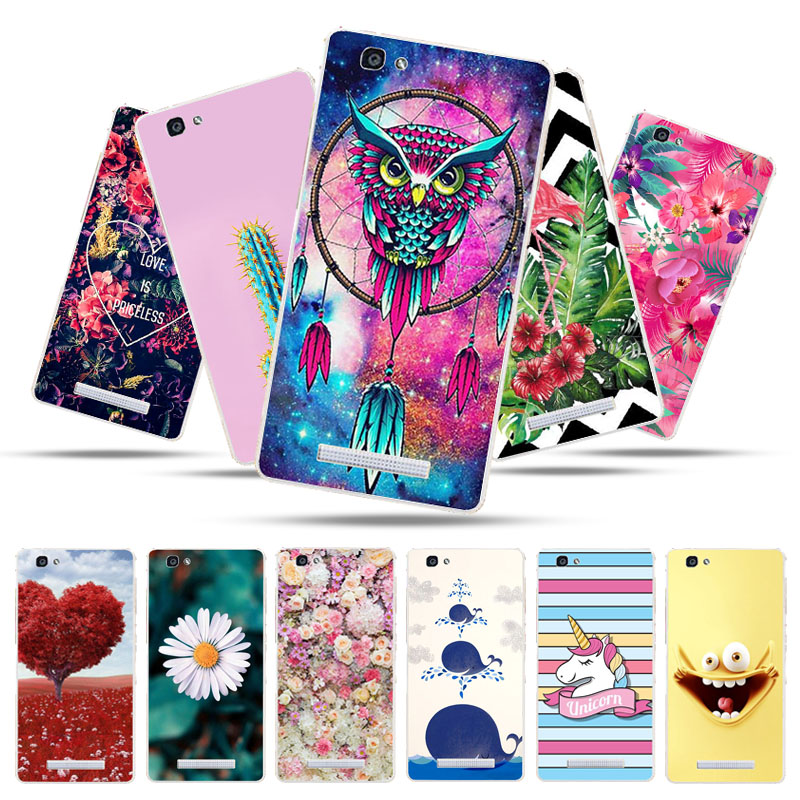 Bolomboy Painted Case For ZTE Blade A610 Case Silicone Soft TPU Cases For ZTE V6 Max A 610 Cover Wildflowers Animal Cute Bags