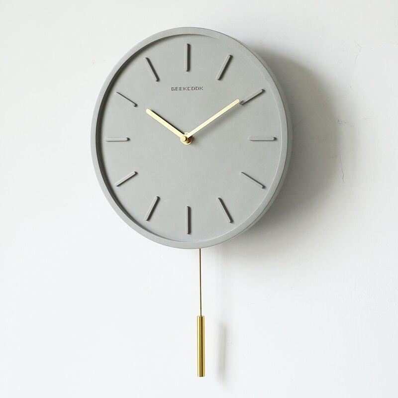Nordique Creative pendule horloge silencieux Quartz montre mécanisme Pow patrouille horloges salon décoration horloge Relogio Parede 5ZB94