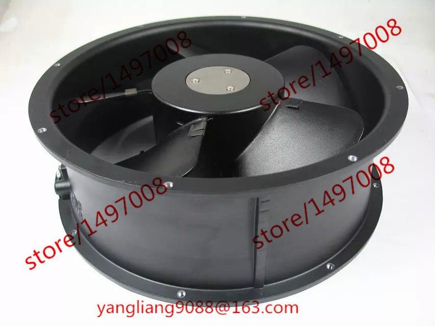 Emacro KAKU KA2509HA2-2 DC 220V 0.22/0.28A 254x254x89mm Server Round fan
