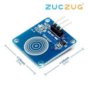1 шт. /лот TTP223B 1 канал Jog цифровой сенсорный сенсор емкостный сенсорный выключатель модули аксессуары для arduino