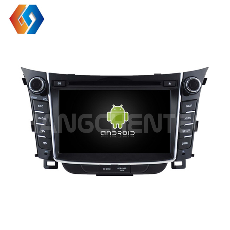 Android 9 Car DVD Player GPS Radio for Hyundai i30 Built in WiFi BT Phone Mirror GPS OBD DVR TPMS Octa core 4G 32G Car Stereo 26