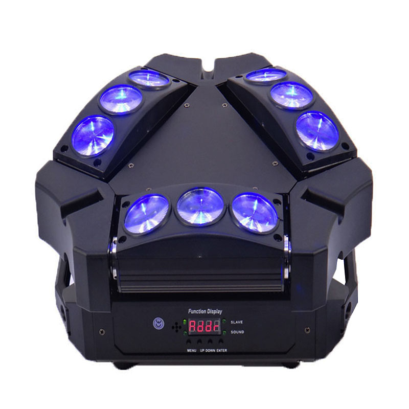 New Arrival 9x10W Led Spider Light RGBW 9/43CH DMX Stage Lights Dj Led Spider Moving Head Beam LightNew Arrival 9x10W Led Spider Light RGBW 9/43CH DMX Stage Lights Dj Led Spider Moving Head Beam Light