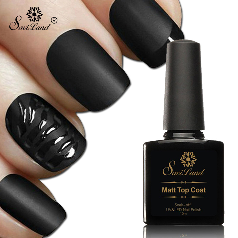 saviland 10ml matte top coat nail
