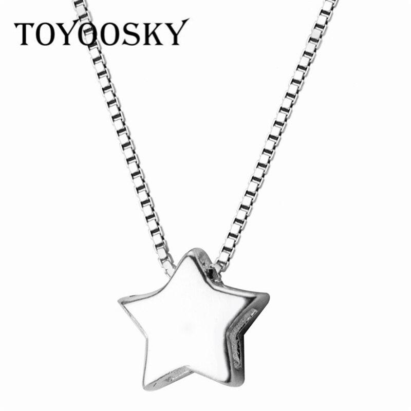 7d9132203e3c Collar de luna de Plata de Ley 925 Luna colgante collares para mujeres  Cadena de plata